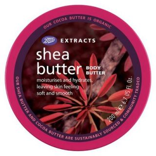 Boots Extracts Shea Butter Body Butter   6.7 oz