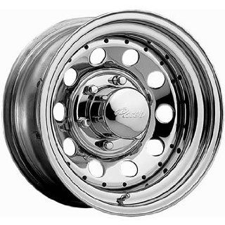 Pacer Chrome Modular 15x8 Chrome Wheel / Rim 5x4.5 with a  19mm Offset and a 83.82 Hub Bore. Partnumber 320C 5812 Automotive