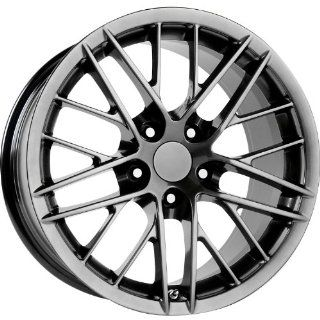 Strada Replicas 121 18 Gunmetal Wheel / Rim 5x4.75 with a 56mm Offset and a 70.7 Hub Bore. Partnumber 121H 886156 Automotive