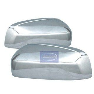 Chevy (Avalanche/Silverado/Suburban/Tahoe) GMC(Denali/Yukon)2007 2008 2009 2010 2011//GMC Sierra 2007 2008 2009 2010 Chrome Mirror Covers Automotive