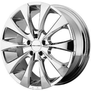 "KMC Wheels KM679 Wheel with Chrome Plated Finish (22x9""/5x115mm) Automotive"