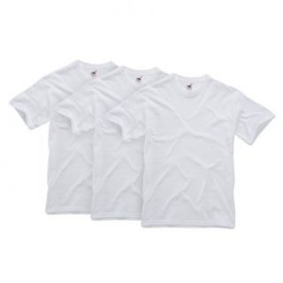 Fruit of the Loom Herren Shirt/ T Shirt 3 er Pack 110103 Bekleidung