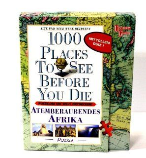 University Games 318351   University Games Puzzle Africa   1.000 Places to see before you die Spielzeug