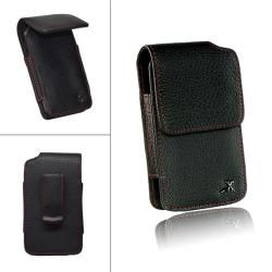 Luxmo Executive #2 Vertical Leather Pouch for Samsung Replenish/ M580 LUXMO Cases & Holders