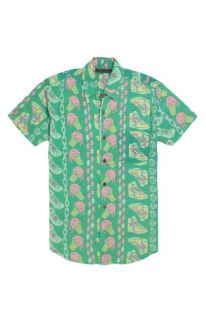Mens Vanguard Shirts   Vanguard Bel Air Short Sleeve Woven Shirt