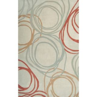 Richmond Wool Tufted Area Rug   Ivory