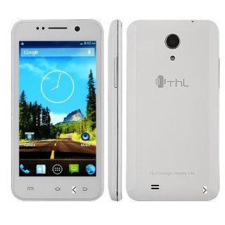 ThL W100S Smartphone MTK6582M Quad Core Android 4.2 1.3G RAM 4.5 Inch IPS Screen (White) Cell Phones & Accessories