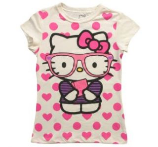 Mighty Fine Hello Kitty Cute Meets Smart Tween White L Clothing