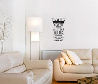 Family Isn't Always Blood (M) Wall Saying Vinyl Lettering Home Decor Decal Stickers Quotes