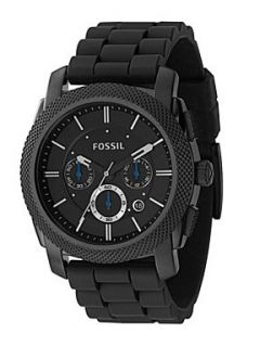 Fossil FS4487 Machine Black Mens Sports Watch