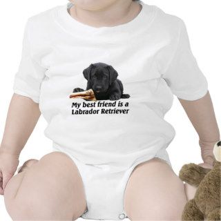 "Baby Body ""Labrador Retriever"" Shirts"