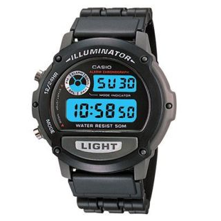 Casio Mens Digital Sport Watch   Black   W87H 1V