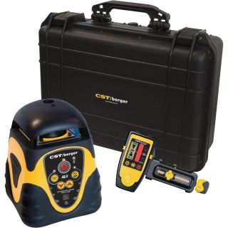 CST/Berger Self-Leveling Horizontal Rotary Laser Level Complete Package, Model# 57ALHPKG  Laser Levels