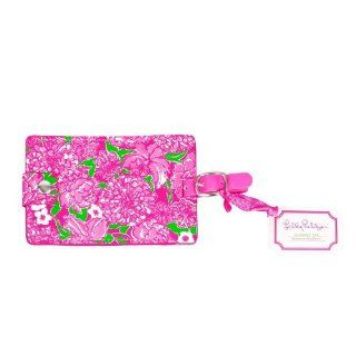 Lilly Pulitzer May Flowers Luggage Tag   Identification Badges