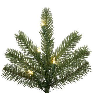 Vickerman 7 6 Green Kennedy Fir Slim Artificial Christmas Tree with