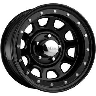 Pacer Street Lock 15x10 Black Wheel / Rim 5x4.5 with a  38mm Offset and a 83.82 Hub Bore. Partnumber 252B 5112 Automotive
