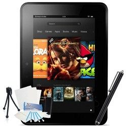 Kindle Fire HDX 7 Touch 16GB Wi Fi  (Without Special Offers) Bundle