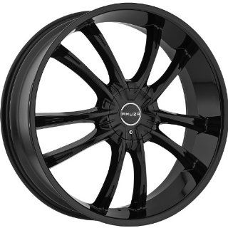 AKUZA WHEELS SHADOW GLOSS BLACK 5X110/5X4.5 +35   24X8.5 Automotive