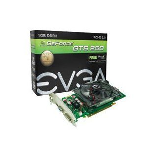 EVGA nVidia GeForce GTS 250 1GB DDR3 VGA/DVI/HDMI PCI Express Video Card 01G P3 1145 TR Electronics