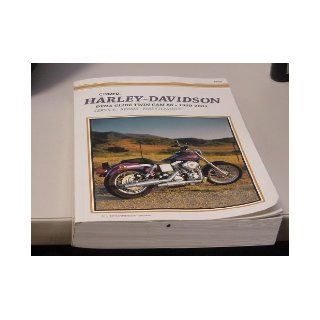 Harley Davidson Dyna Glide Twin Cam 88, Fxdc Conv, Fxdl, Fxdp, Fxd, Fxdwg, Fxdx, Fxdxt Repair Manual 1999 2001 Clymer Publishing 9780892877836 Books