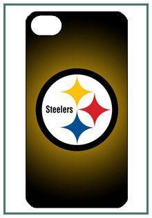 NFL   Pittsburgh Steelers Pittsburgh NFL Steelers iPhone 4s iPhone4s Black Designer Hard Case Cover Protector Bumper Cell Phones & Accessories