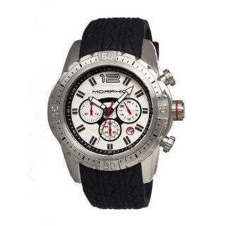 Morphic M27 Chronograph Mens Watch, Silver Dial, 48mm Case Diameter MPH2701 Morphic Watches