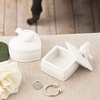 bird trinket box by the contemporary home