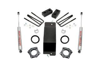 Rough Country 288.20   3.5 inch Suspension Lift Kit with Premium N2.0 Series Shocks for Chevrolet Silverado 1500 4WD; GMC Sierra 1500 4WD Automotive
