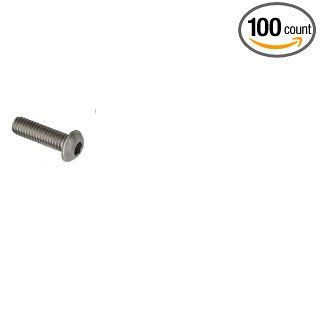 "(100pcs per box) 5/16"" 18X2 Button Head Hex Socket Drive Cap Screws STAINLESS STEEL 304 Ships FREE in USA"