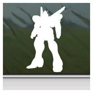 Gundam White Sticker Victory V2 Car Vinyl Window Laptop White Decal