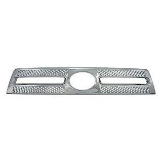 Toyota Tundra Chrome Front Grille Insert Fits 2010, 2011, 2012, 2013 Toyota Tundra Automotive
