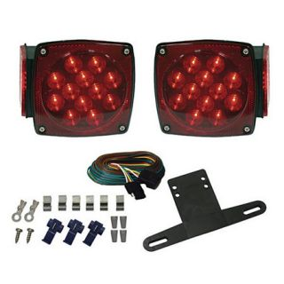Optronics Waterproof LED Trailer Light Kit 76087