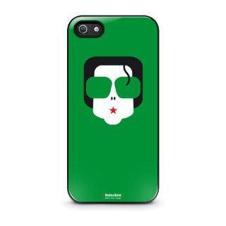 Michael Jackson Heineken Logo Drink the Music Iphone 5 5s Plastic Black Case Cell Phones & Accessories