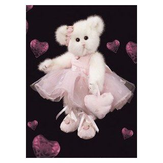 Dance Into My Heart Bearington Bear Ballerina Dressed White Teddy Bear Stuffed Animal Ballet Gift By Bearington Collection Toys & Games