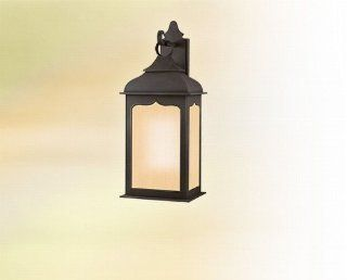 Troy Lighting BF2013CI, Henry Street Outdoor Wall Sconce, 26 Watts Fluorescent, Colonial Iron   Outdoor Post Lights