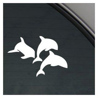 Dolphins Swimming Decal Car Truck Window Sticker   Themed Classroom Displays And Decoration