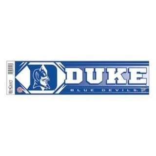 Duke Blue Devils Bumper Sticker  Sports Fan Bumper Stickers  Sports & Outdoors