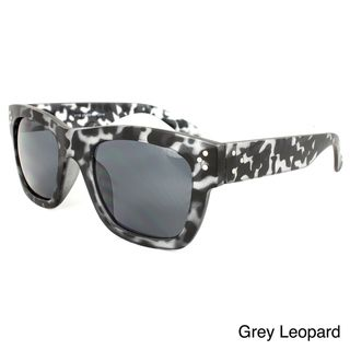 Women's Plastic Leopard Print Sunglasses Apopo Eyewear Fashion Sunglasses