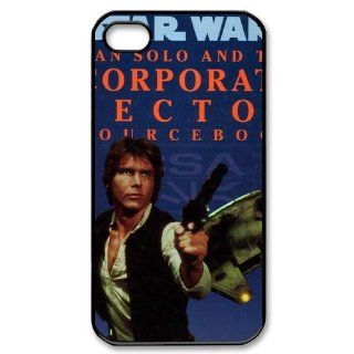 Diyshop Star War Hans Solo The Loner Custom Case for iPhone 4 4S CC333 Cell Phones & Accessories