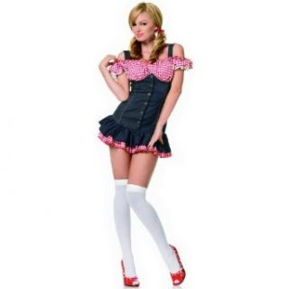 Country Girl Costume   X Small   Dress Size 0 2 Clothing