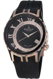 Edox Men's 80080 357RN NIR Grand Ocean Automatic Swiss Watch at  Men's Watch store.