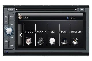 Metra MDF 7603 1 In Dash 6.1 Inch Double DIN Touchscreen Car Receiver with Bluetooth and Navigation (2007 2011 Nissan Versa)  Vehicle Cd Digital Music Player Receivers