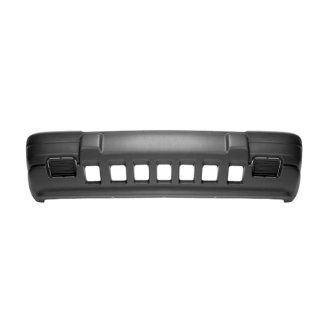 CarPartsDepot, Front Bumper Cover Raw Plastic Unpainted Replacement w/o Fog Hole, 352 26136 10 CH1000843 5DN04SS5? Automotive