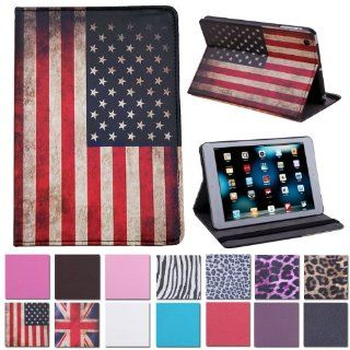 HDE American Flag Folding Cover Case fits iPad Mini Computers & Accessories