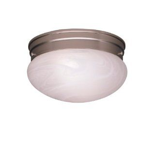Kichler Lighting 8210NI 2 Light SemiFlush Flush Mount Ceiling Light, Brushed Nickel   Flush Mount Ceiling Light Fixtures