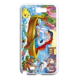 FashionFollower Personalized Classical Cartoon Series Little Mermaid Lovely Phone Case Suitable For Samsung Galaxy Note 2 NoteWN32903 Cell Phones & Accessories