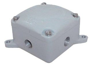 RAB EXB34 Explosion proof Junction Box 4 Hubs 34 Blank Cover   Electrical Hubs