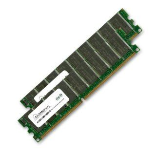 2GB Kit (2 x 1GB) ECC RAM for the Dell Precision Workstation 380 and 390 Desktop System (DDR2 667, PC2 5300) Upgrade by Arch Memory Computers & Accessories