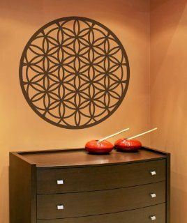 Vinyl Wall Decal Sticker Flower of Life OS_MB372m   Wall Decor Stickers