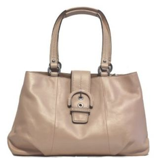 Coach Soho Leather Shell Pink Tote Bag F18751 Top Handle Handbags Shoes